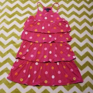 GapKids Ruffle Polka Dot Dress Extra Small (4-5)